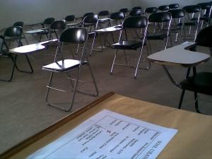 ruangan ujian uas