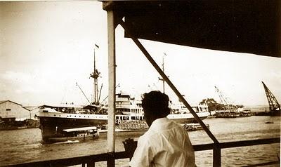 Desan di atas kapal menuju Yogya